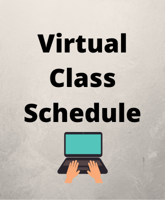 Virtual Classroom Schedule