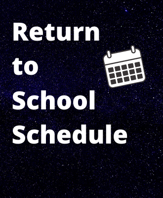 Return To School Bell Schedule